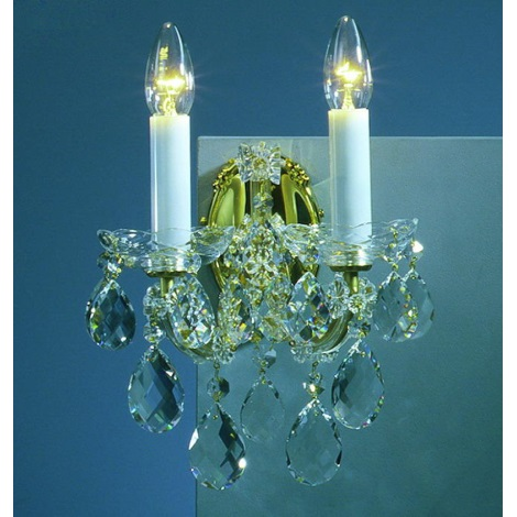 Artcrystal PWM518000002 - Fali lámpa 2xE14/40W
