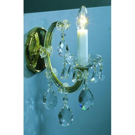 Artcrystal PWM531000001 - Fali lámpa 1xE14/40W
