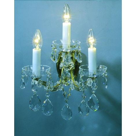 Artcrystal PWM531100003 - Fali lámpa 3xE14/40W
