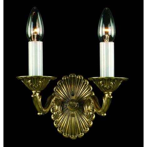 Artcrystal PWN330300002 - Fali lámpa 2xE14/40W