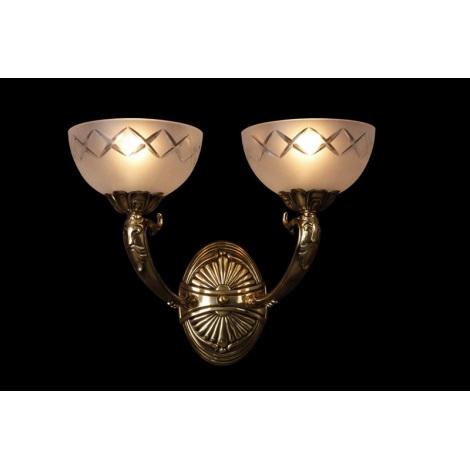 Artcrystal PWN385600002 - Fali lámpa 2xE27/60W
