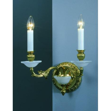Artcrystal PWR523300002 - Fali lámpa 2xE14/40W