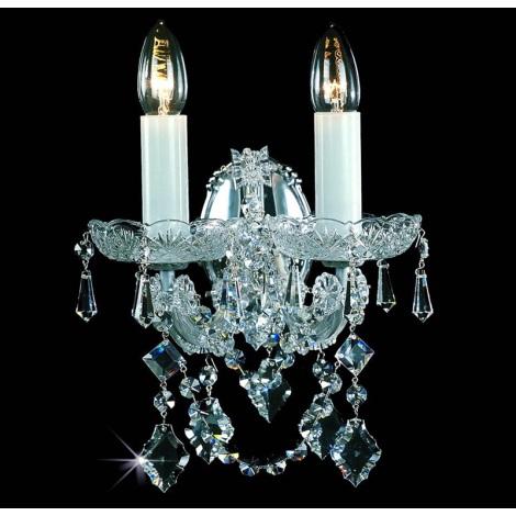 Artcrystal PWT323401002 - Fali lámpa 2xE14/40W