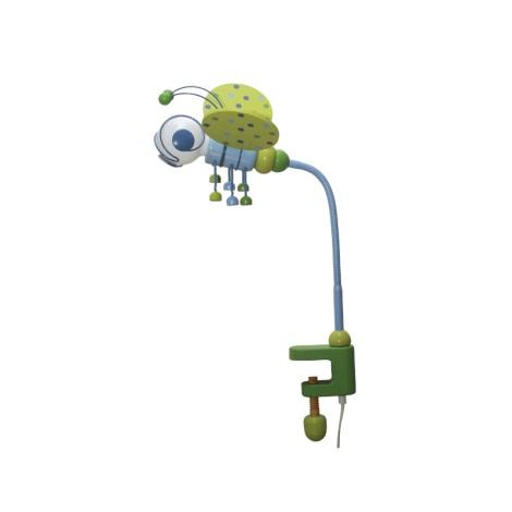 Asztali lámpa MÉHECSKE kék/zöld