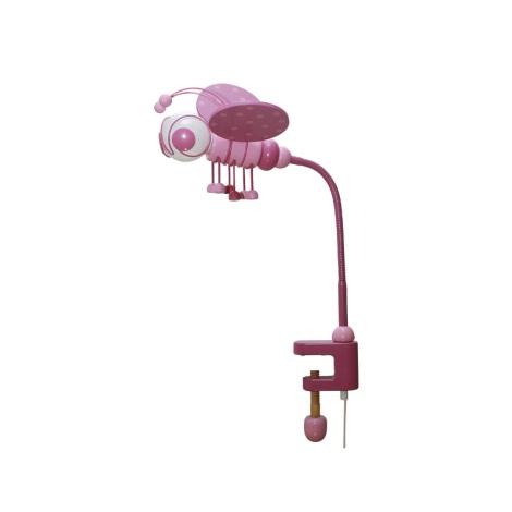Asztali lámpa MÉHECSKE rózsaszín