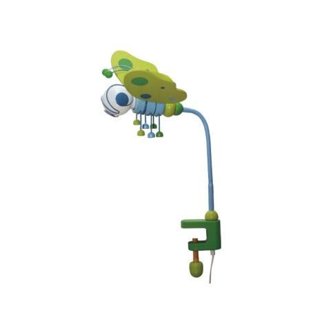 Asztali lámpa Pillangó kék/zöld