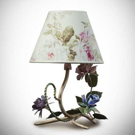 Asztali lámpa ROMANCE 1xE14/40W/230V 34 cm