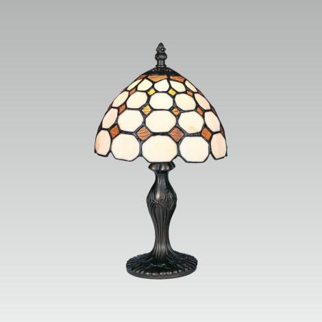 Asztali lámpa TIFFANY 101 1xE14/40W/230V