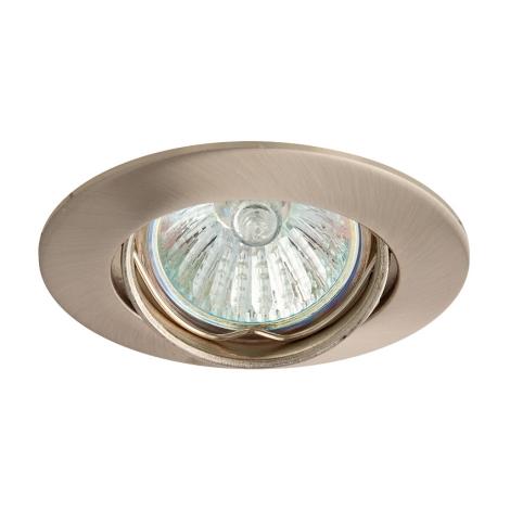 Beépíthető lámpa SLASH 5519 1xMR11/35W szatén - nikkel - GXPL040