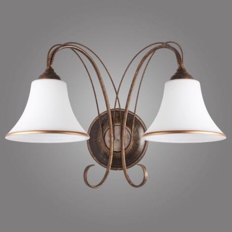 BELIZE B fali lámpa 2xE27/60W