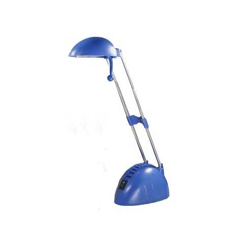 BEN halogén asztali lámpa 1xG4/20W kék