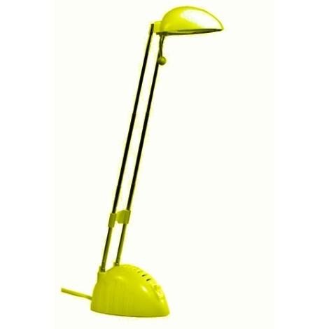 BEN halogén asztali lámpa 1xG4/20W sárga