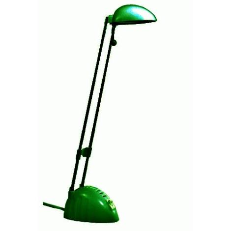 BEN halogén asztali lámpa 1xG4/20W zöld