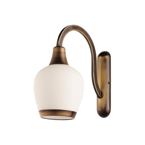 BIANKO fali lámpa 1xE27/60W sárgaréz/patinás