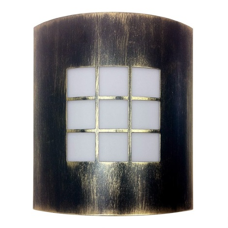 Bright Light 01812/71/BR - PROMO kültéri fali lámpa 1xE27/60W/230V
