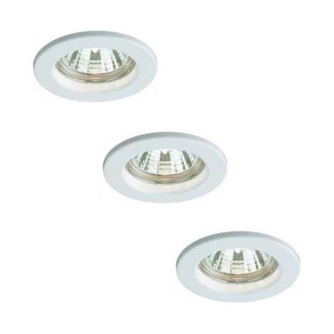 Bright Light 59393/31/19 - KÉSZLET 3x Fürdőszobai lámpa 3xGU10/50W/230V