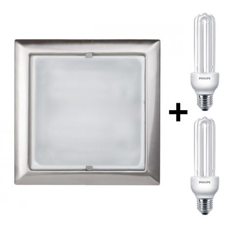 Bright Light 59797/17/15 - Beépíthető lámpa 2xE27/22W/230V