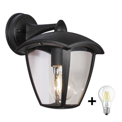 Brilagi - Kültéri fali lámpa LUNA 1xE27/60W/230V IP44