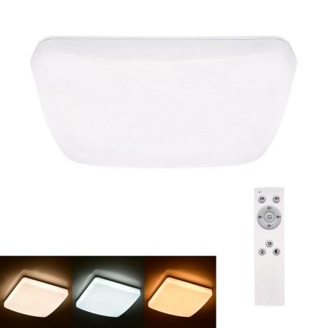 Brilagi - LED Dimmelhető mennyezeti lámpa MILKY LED/24W/230V + távirányító 3000K-6500K