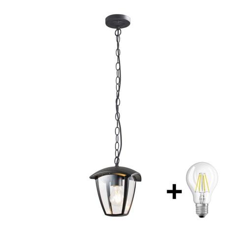 Brilagi - LED Kültéri függeszték LUNA 1xE27/10W/230V IP44