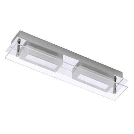 Briloner - 2262-028 - LED Fürdőszobai mennyezeti lámpa SURF 2xLED/6W/230V IP44
