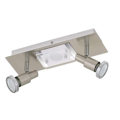 Briloner 2879-032 - LED Mennyezeti lámpa COMBINATA 2xGU10/3W + LED/5W/230V