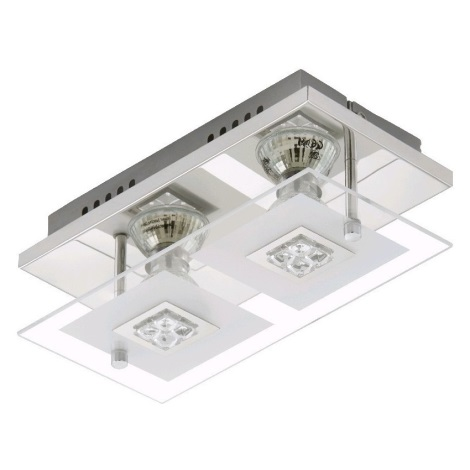 Briloner 3195-028 - LED Mennyezeti lámpa TULA 2xGU10/3W/230V