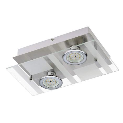 Briloner 3551-022 - LED Mennyezeti lámpa PURISTA 2xLED/5W/230V