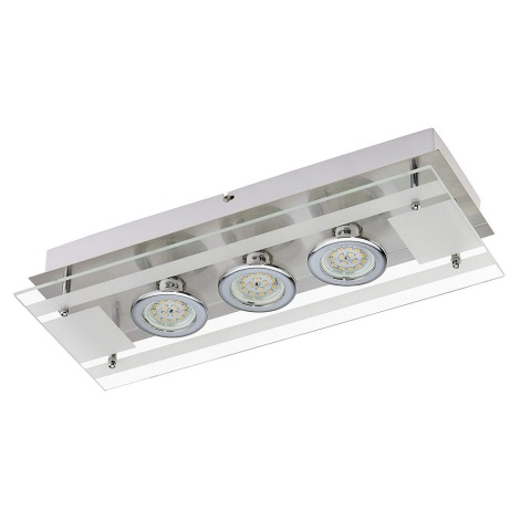 Briloner 3552-032 - LED Mennyezeti lámpa PURISTA 3xLED/5W/230V