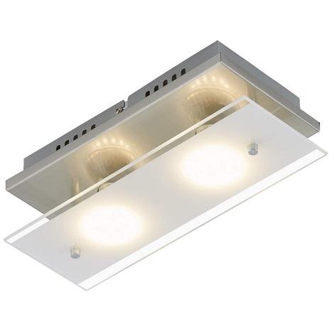 Briloner 3596-022 - LED Mennyezeti lámpa TELL 2xGU10/3W/230V