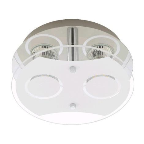 Briloner 3598-028 - LED Mennyezeti lámpa ORNA 2xGU10/3W/230V