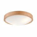 Ceiling Light OAK SLIM 2×E27/60W/230V Oak ø 37 cm