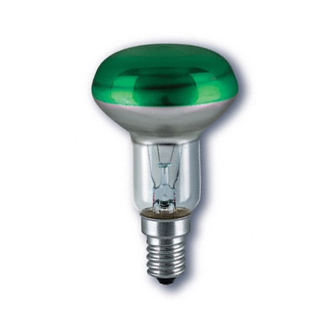 CONC R50 GREEN reflektor izzó E14/40W