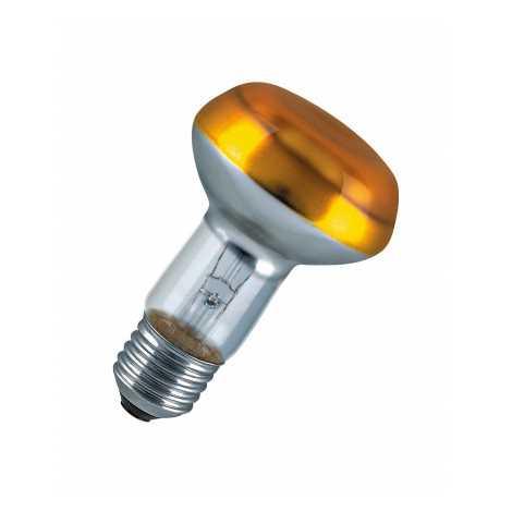CONC R63 YELLOW reflektor izzó E27/40W