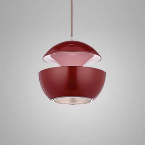 COSMO COM függeszték 1xE14/40W piros/rózsaszín