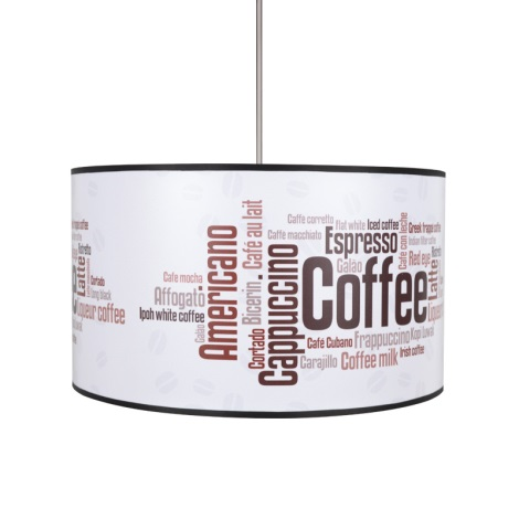 Csillár COFFEE 1xE27/60W/230V