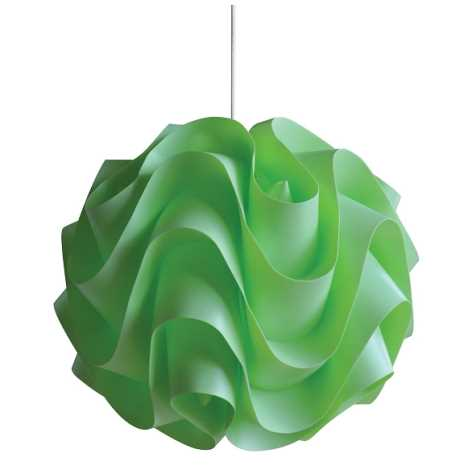 Csillár zsinóron 1xE27/60W W-3011 zöld