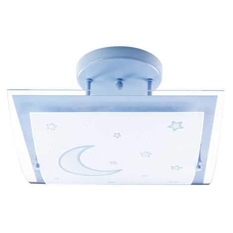 Dalber 45237T - Gyerek mennyezeti lámpa MOON LIGHT 2xE27/40W/230V