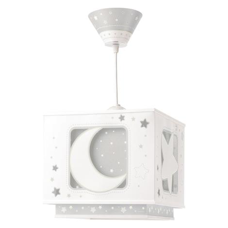 Dalber 63232E - Gyerek csillár MOON LIGHT 1xE27/60W/230V