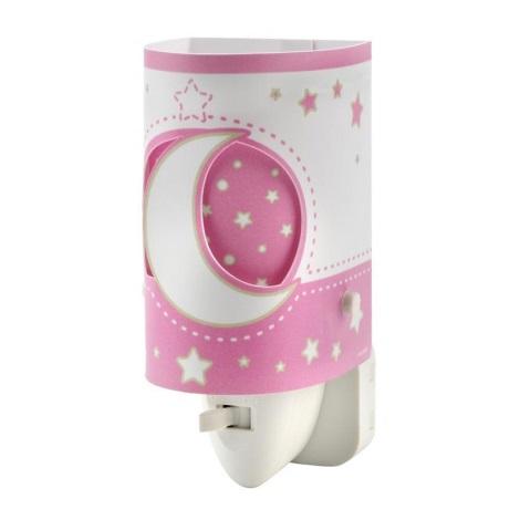 DALBER D-63235LS - LED konnektoros lámpa PINK MOON LED/0,5W