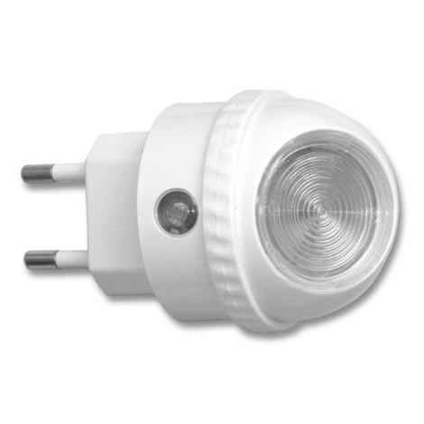 Ecolite XLED-NL/BI - LED Éjjeli fény konnektoros érzékelővel LED/0,4W/230V