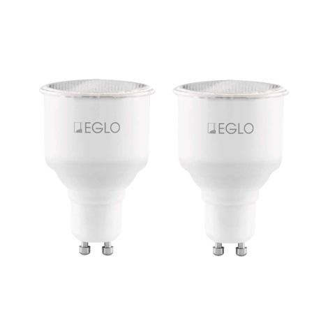 Eglo 12125 - SADA 2x Halogén izzó GU10/7W/230V