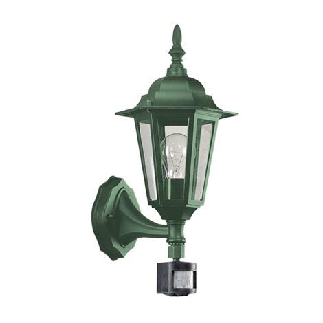 EGLO 13185 - LATERNA 6 kültéri fali lámpa1xE27/60W szenzoros