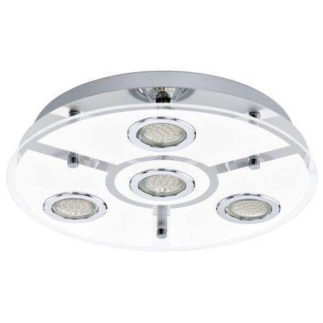 EGLO 13531 - CABO LED-es mennyezeti lámpa 4xGU10 LED/2,5W