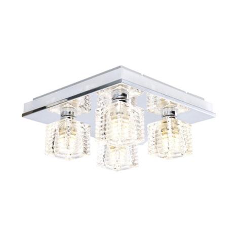 EGLO 13546 - ISELLA LED-es mennyezeti lámpa 4xG9/33W+LED/2,4W