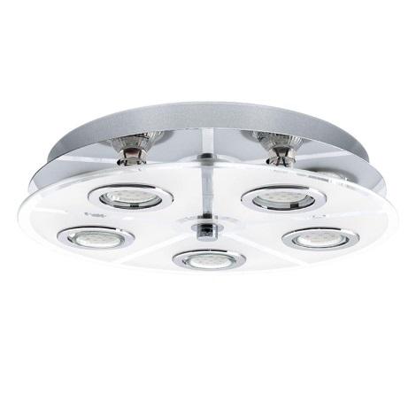 EGLO 13552 - CABO LED-es mennyezeti lámpa 5xGU10 LED/2,5W