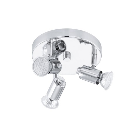 EGLO 13571 - Spotlámpa 3xGU10 LED/2,5W