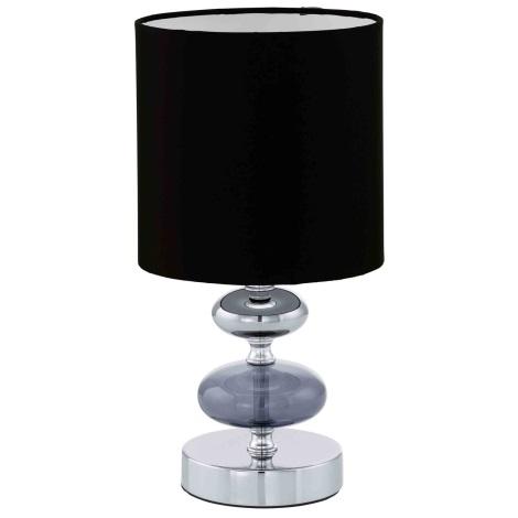 EGLO 13594 - CASO asztali lámpa 1xE14/40W fekete