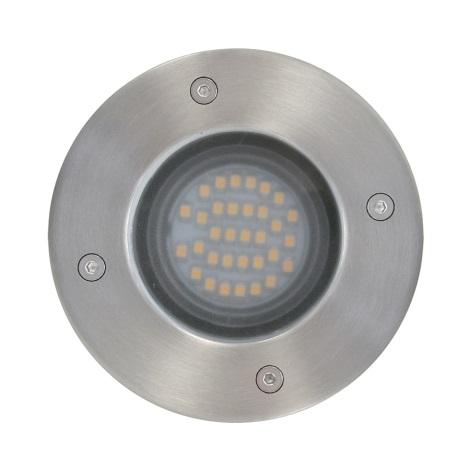 EGLO 18641 - LED Kültéri taposólámpa UNION 1xLED/2,5W/230V IP65