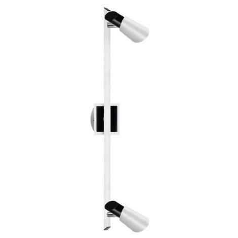 EGLO 22041 - SKIP BLACK spotlámpa 2xGU10/50W